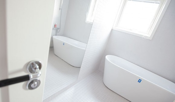 Ansa bygg renoverar och resultatet blir nya ljusa fina badrum