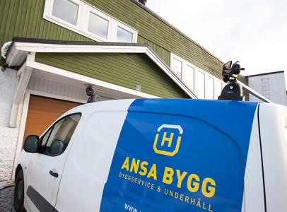 Renovering av villa i Piteå
